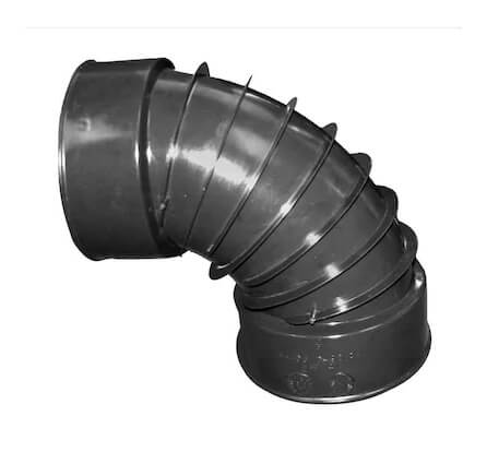 4 or 6 in. 90° Elbow Coil Pipe Accessories