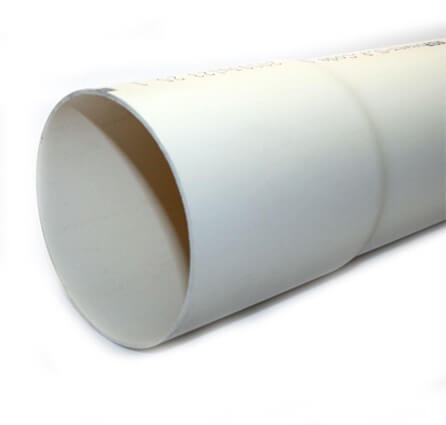 Solid Sewer & Drain Pipe 4 in. x 10 ft.