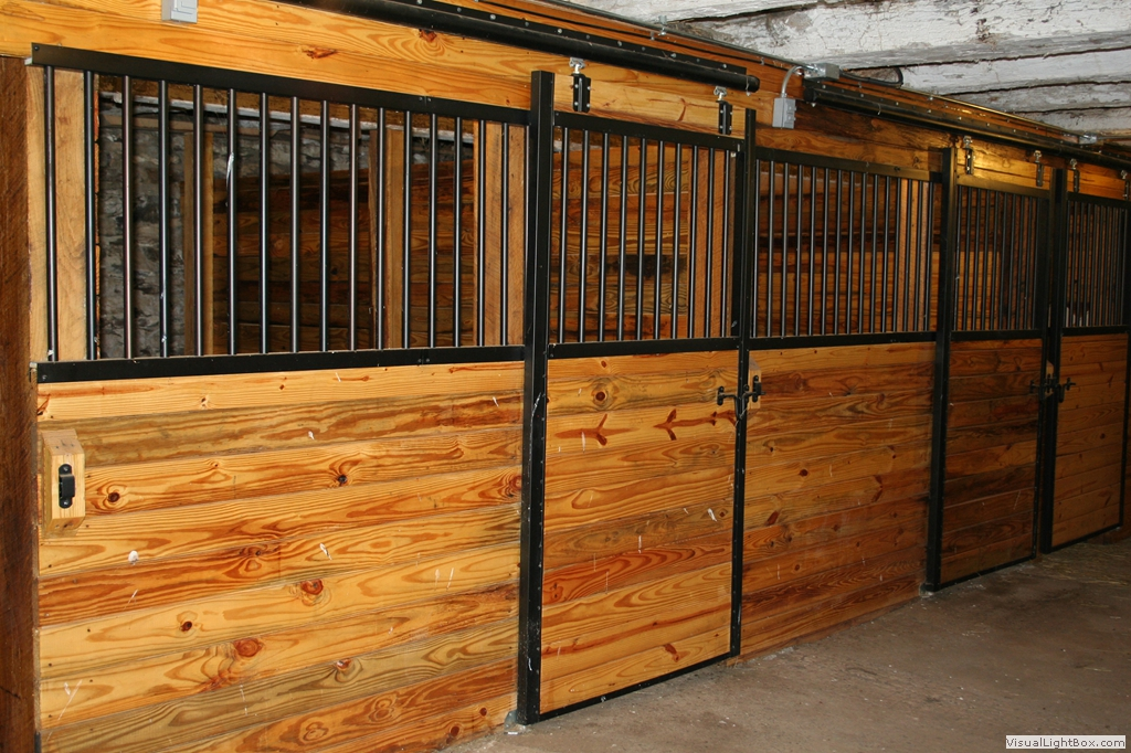 Apm horse stall gallery for Horse barn materials